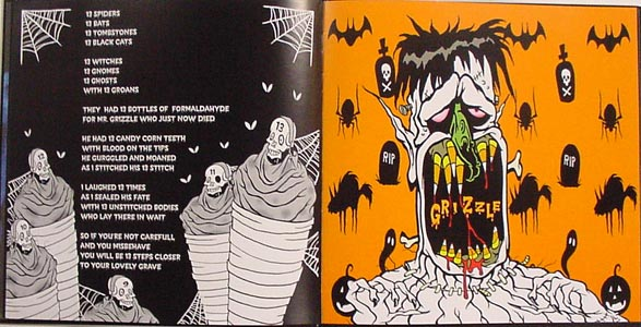 ERIC PIGORS  GHOULISHLY GHASTLY DEADTIME STORIES 画集(絵本)